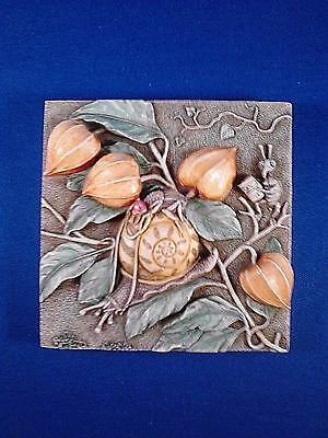 Byron's Secret Garden SLOW DOWNS Harmony Kingdom picturesque tile Used with Box