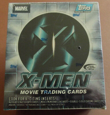 Marvel Comics Topps 2000 X-Men The Movie Trading Cards Factory Seal 36 Pack Box