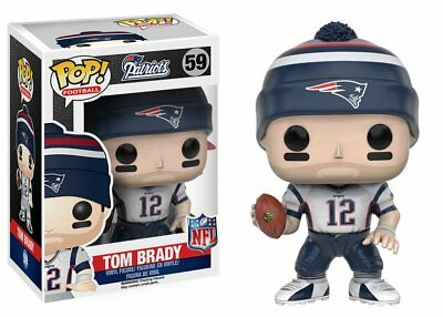 Funko Pop NFL Football Wave 3 Patriots Tom Brady Vinyl Collectible Action Figure