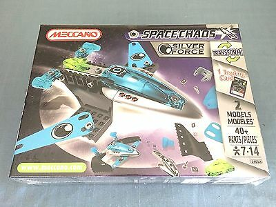 Meccano Space Chaos Dark Pirates #803100A 40 Pieces New Sealed