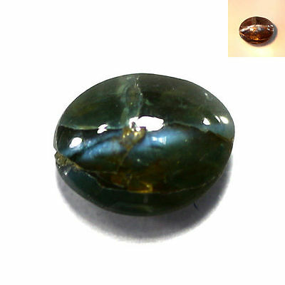 0.35 Ct Eye-popping Oval Cab 5 x 4 mm Natural SrilLankan Alexandrite Cats Eye