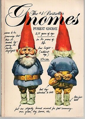GNOMES - WIL HUYGEN Beautifully Illustrated By RIEN POORTVLIET 1979 PB