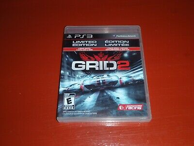 Grid 2 -Limited Edition (Sony Playstation 3 ) -PS3 Complete