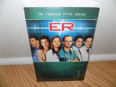 ER - The Complete First Season One 1  (DVD, 2011, 7-Disc Set) BRAND NEW, SEALED