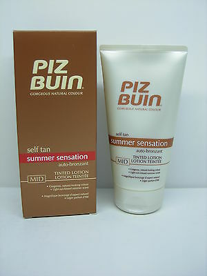 Piz Buin Self Tan Lait Autobronzants Mid 150 Ml