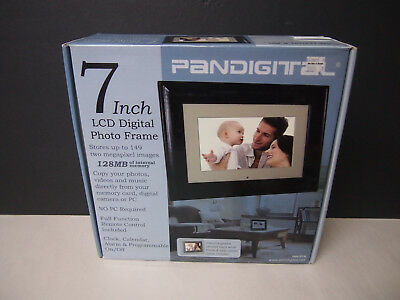 "Pandigital 7"" inch LCD Digital Photo Picture Frame W/Remote Control"