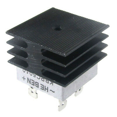 H1 Hot Sale Plastic Metal 50A 1000V Metal Case Bridge Rectifier with Heats