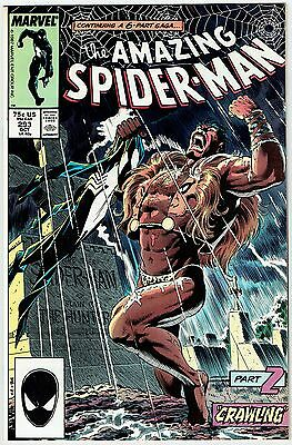 "Amazing Spider-Man #293 Vs. Kraven Marvel Comics 1987 Vf/nm ""crawling"" 6 Pt Saga"
