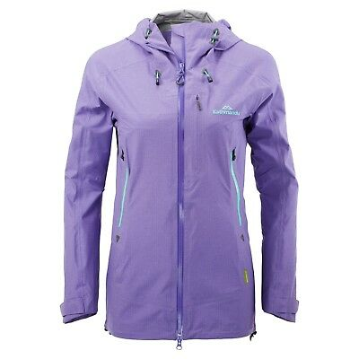 KATHMANDU Flinders Womens Hooded Water Proof Coat Rain Jacket Purple - Size 10