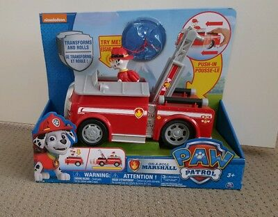 Paw Patrol Rescue Marshall Fire Fighting Truck - NEW