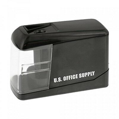 U.S. Office Supply Electric Pencil Sharpener Battery or USB Powered Sharpen