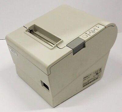 USED Epson TM-T88IV M129H Thermal Point of Sale Receipt USB Printer 880D-WHT