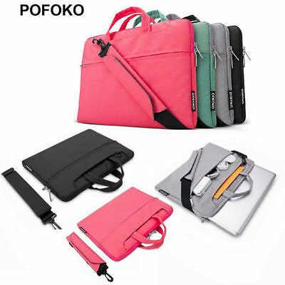POFOKO laptop Shoulder bag carry case pouch for DELL HP ACER ASUS SONY IBM 11-15