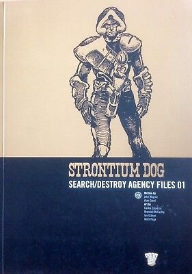 2000AD Strontium Dog: Search/Destroy Agency Files 01 (Wagner/Grant/Ezquerra)