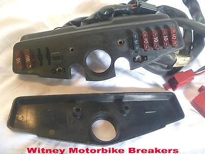 Honda Vfr400 Nc24 Fuse Box Fusebox Fuses With Lid Vfr 400 400R 1986-88