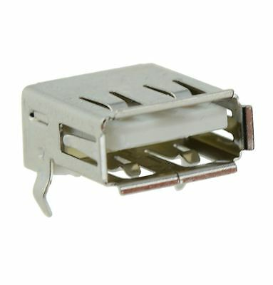 10 x USB Type A Right Angle Socket Connector