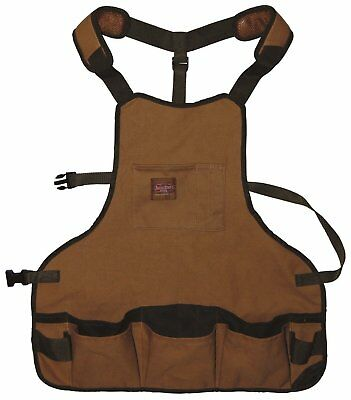 NEW Highly protect durable Duck wear canvas Super Bib full coverage apron