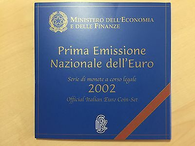Italien 3,88 Euro 2002 Stgl. KMS 1 Cent bis 2 Euro im Blister