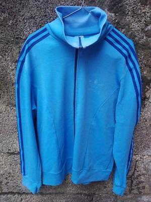 ADIDAS giacca 80's vtg jacket tuta track oldscholl suit jersey casuel overalls