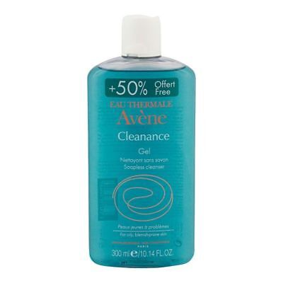 Avene Cleanance Cleansing gel soap free, Oily blemish-prone skin 300ml FREE P&P