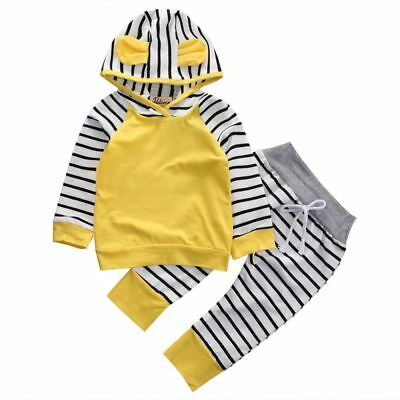 2Pcs/Set New Adorable Autumn Newborn Baby Girls boys Infant Warm Romper Jumpsuit