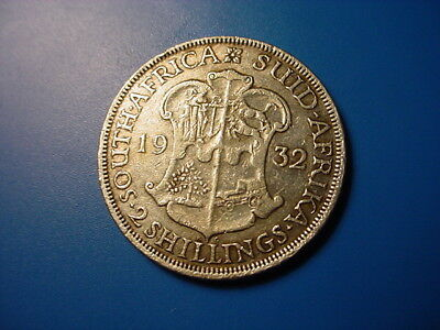 South Africa - Silver - 1932 2-Shillings In Very Nice Condition