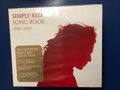Simply. Red.          Four Compact Disc Boxset         Song Book. 1985 -  2010.