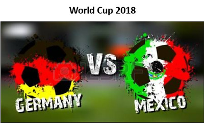 2 x Tickets World Cup 2018 Ger vs Mex Cat 3 (Price is for 2 Tickets) WM 2018