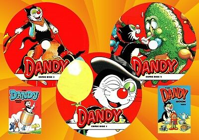 Dandy Comic & Annual Collection On 3 DVD Rom's