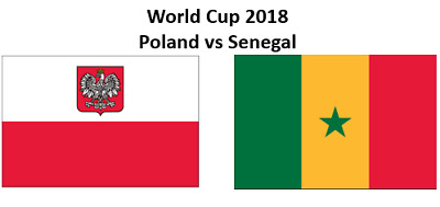 2 x Tickets World Cup 2018 Poland vs Senegal  Cat 3 (Price is for 2 Tickets)