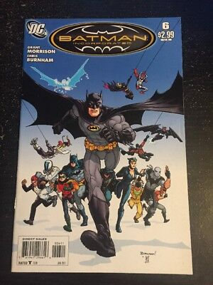 Batman:Incorporated#6 Incredible Condition 9.0(2011) Burnham Art!!