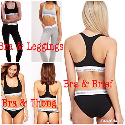 Ladies Calvin Klein Bra & Laggings,Brief or Bra Briefs &Thong CK Women Underwear