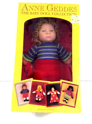 Anne Geddes Dolls Baby Doll Collection Terry Boxed Vintage 1999 NIB