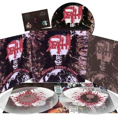 Death Individual Thought Pattern Deluxe Box LP | limited record rare NEW MINT