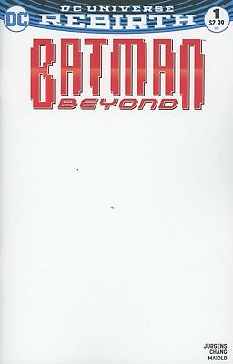 Batman Beyond Vol 6 #1 Cover C Variant Blank Cover
