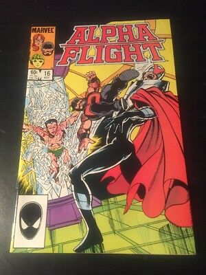 Alpha Flight#16 Incredible Condition 9.4(1984) Sub-mariner App, Byrne Art!!