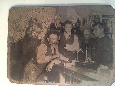 Gold Rush Prospectors Old West Wall Decor Western Art on Slate   6X8