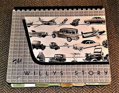 VTG Willys Story 1940-1954 Jeep MA MB MC MD 1949 Jeepster Kaiser Darwin 161 B52