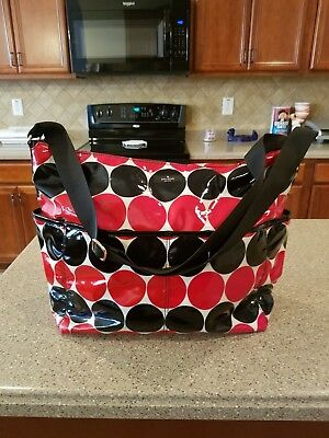 "EC Kate Spade Daycation Serena Baby Diaper Bag Multi-use Tote ""POLKA DOT"" $278"