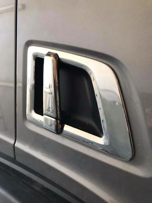 SCANIA S500 SERİES 4PCS Chrome Door Handle Cover Set STAINLESS STEEL