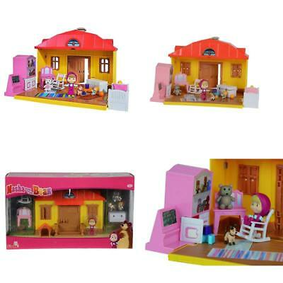 Masha And The Bear House Playset Multi-Colour For Kids Children Christmas Gift