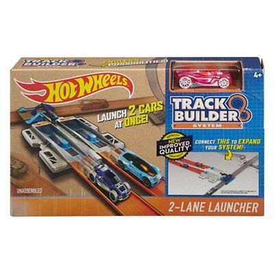 Gioco Pista Lanciatore Turn Kicker Hot Wheels Track Builder System Mattel