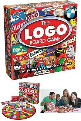 The Logo Board Games 30 Minute Game Play For 2 To 6 Players Aged 12 To Adult