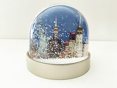 New York Snow Globe, Empire State, Freedom Tower, Statue of Liberty, New Yorker