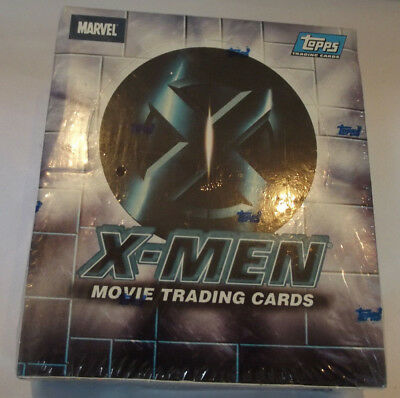 Marvel Comics Topps 2000 X-Men The Movie Trading Cards Factory Seal 24 Pack Box