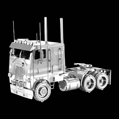 Metal Earth Freightliner COE Truck DIY laser cut 3D steel model kit