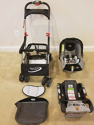 Chicco Keyfit 30 with Snap N Go Stroller