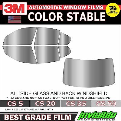 Window Tint 3M Color Stable Precut Full Kit For 04-06 Toyota Tundra 4Dr Crew Cab