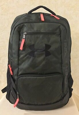 e49d01873a Unisex Under Armour Hustle II Storm Backpack Water Resistant Olive