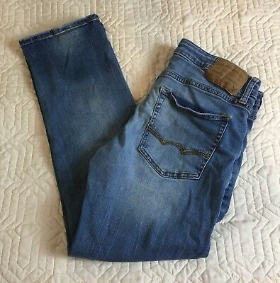 American Eagle Outfitters Active Stretch Original Straight Blue Jeans Size 32x30